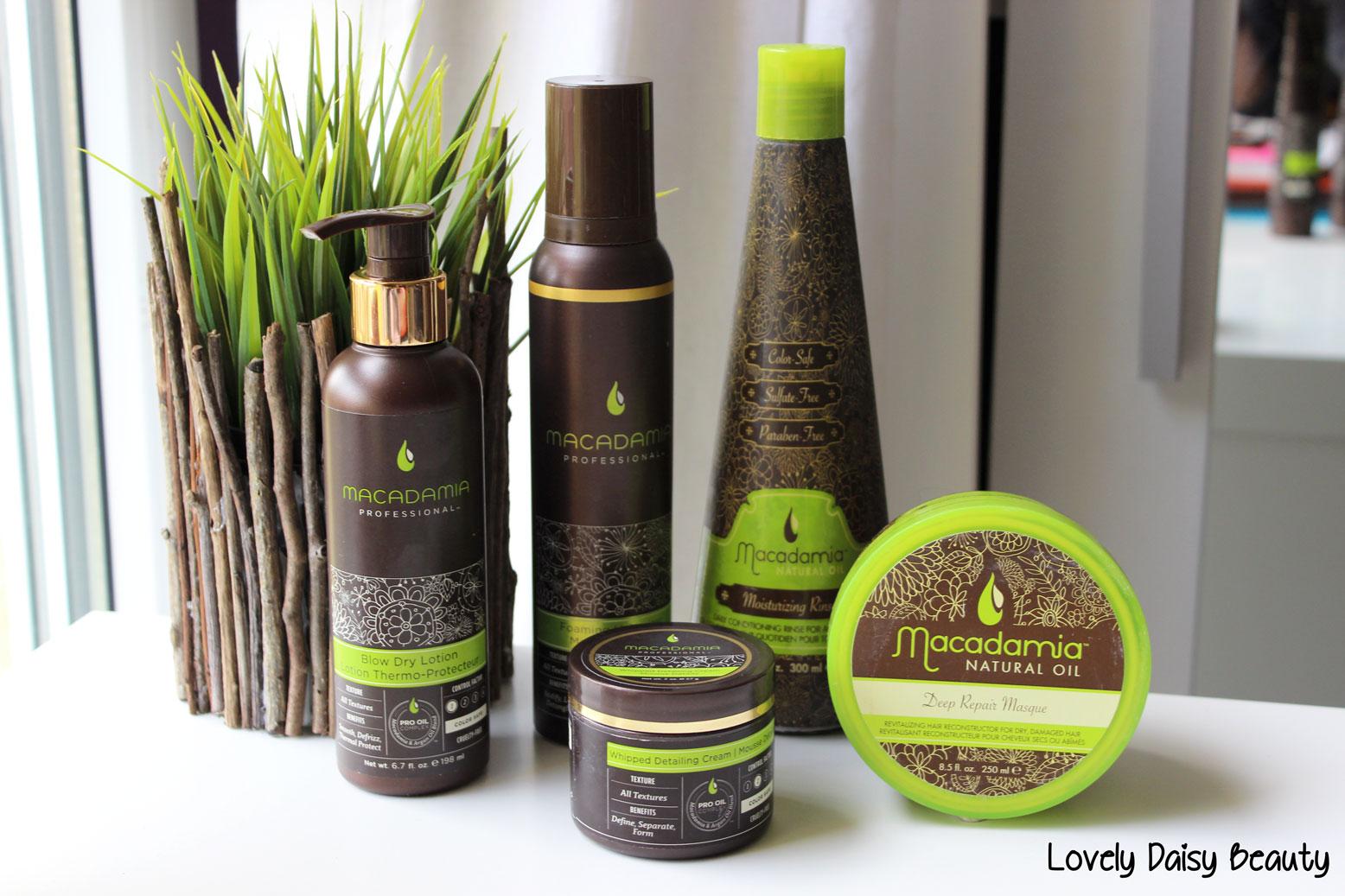 macadamia natural oil deep repair mask conditionner