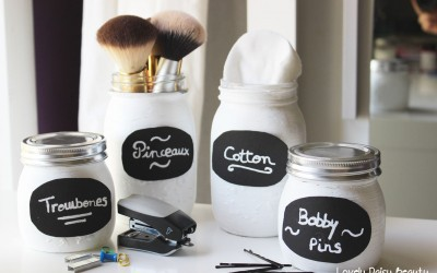 Mason Jar | DIY Organisation ✂ ✏