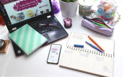 Conseils Blogging | Organisation, Gestion du temps et Planning de publication 💻 📅 📒