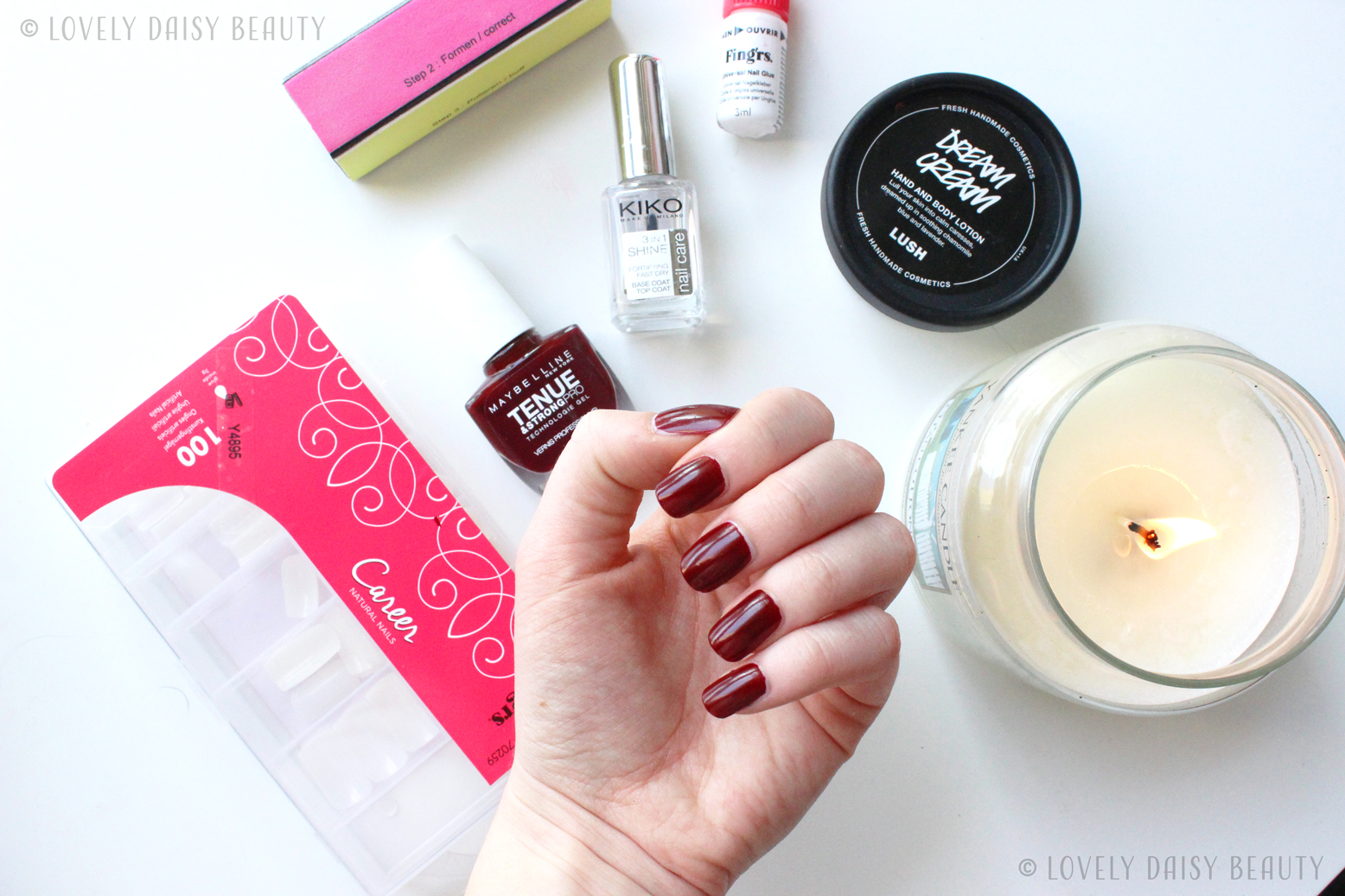 nail routine faux ongles 6