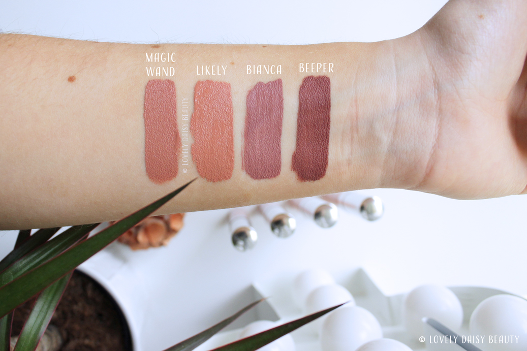 Colour-pop-nudes-liquid-lipstick-swatch-bianca-beeper-likely-magic-wand