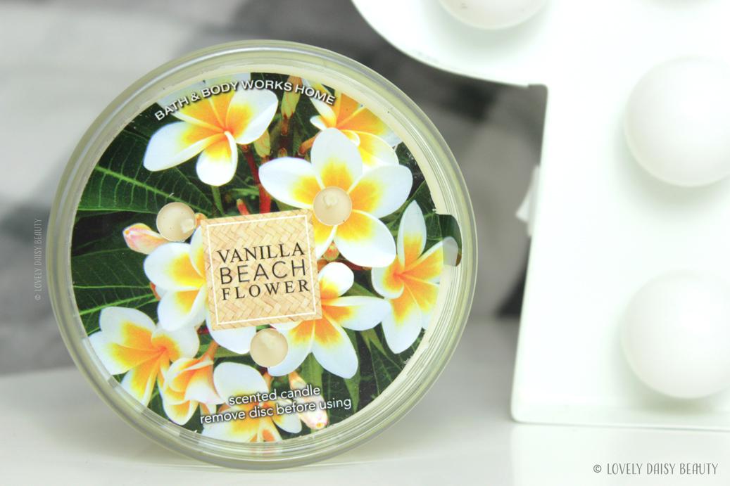 Vanilla Beach Flower Bath & Body Works  1