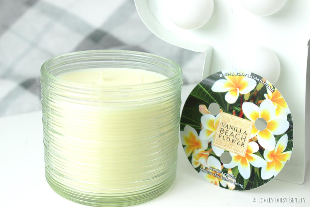 Vanilla Beach Flower Bath & Body Works  4