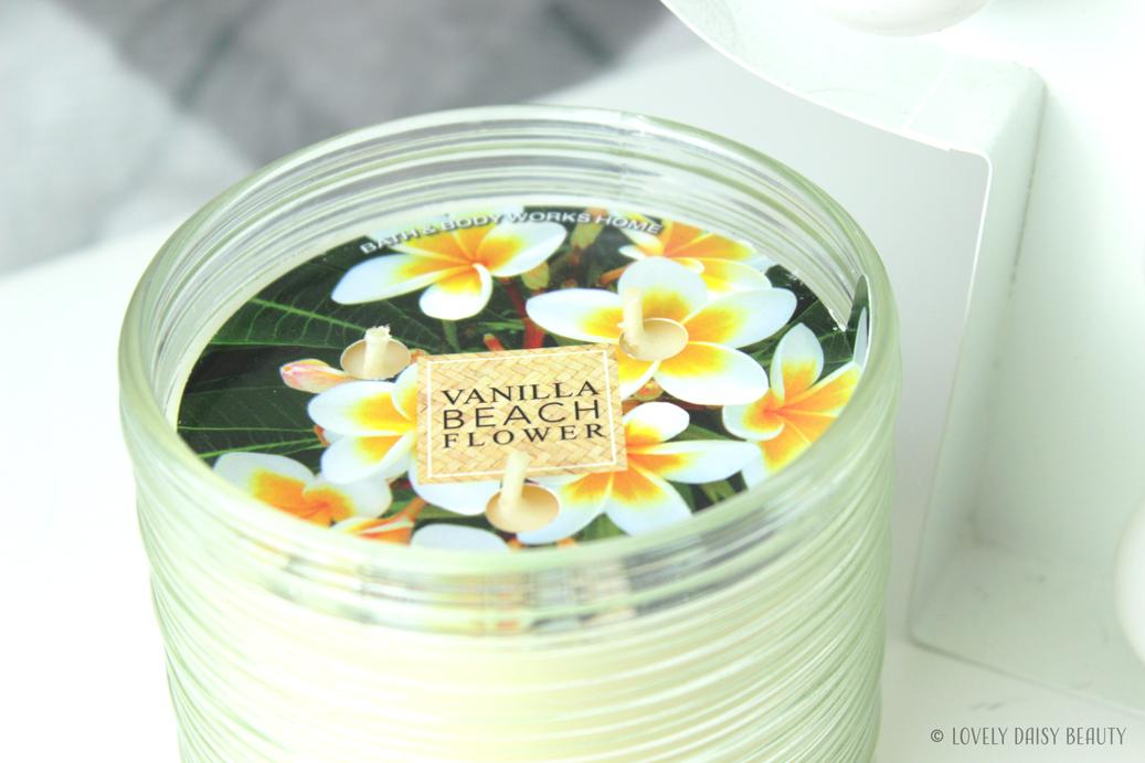 Vanilla Beach Flower Bath & Body Works  5