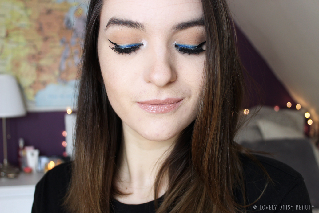 Black & blue liner Monday Shadow Challenge 2