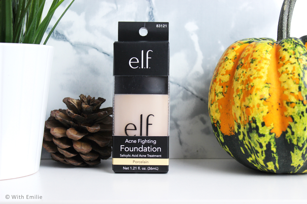 E.L.F fond de teint anti acné - Acne Fighting Foundation eyeslipsface (1)