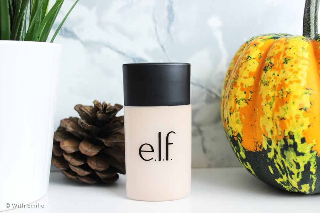 E.L.F fond de teint anti acné - Acne Fighting Foundation eyeslipsface (8)