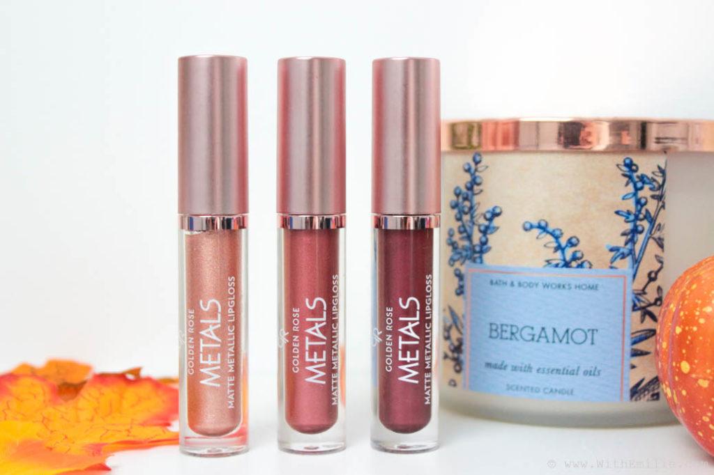 Rouges Lèvres Metals Golden Rose De Liquides Nouveaux À Les CrthdxsQ