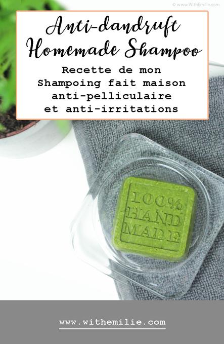 Recette de Shampoing Solide fait maison pour lutter contre les irritations et les pellicules ...