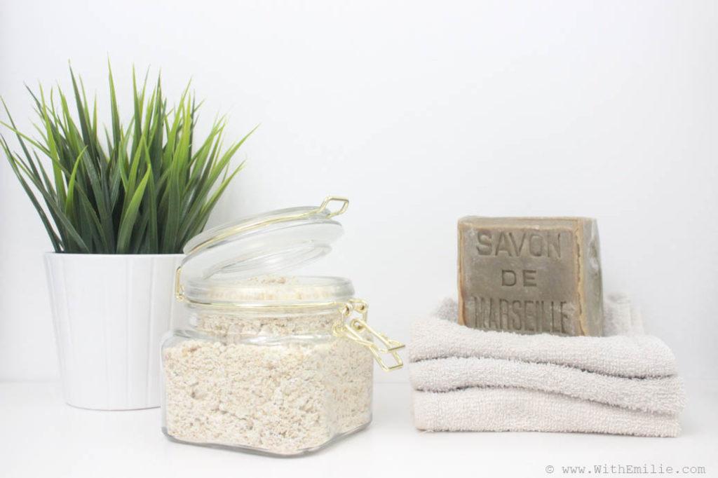 Ma recette de lessive en poudre faite maison en 10 minutes   With Emilie   Lifestyle Simple et ...