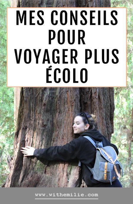 Voyager de manière écologique With Emilie Blog