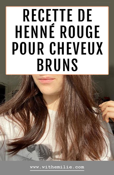 Ma coloration rouge au henné - WithEmilieBlog-Pinterest
