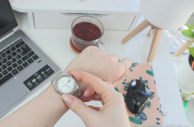 10 conseils pour gagner du temps le matin With Emilie Blog