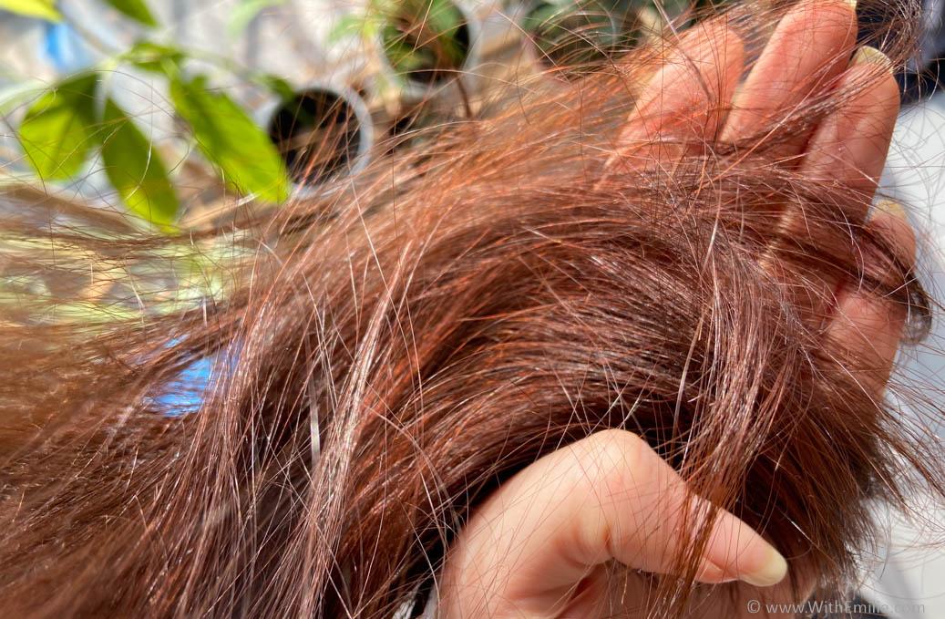 Ma coloration rouge au henné - WithEmilieBlog