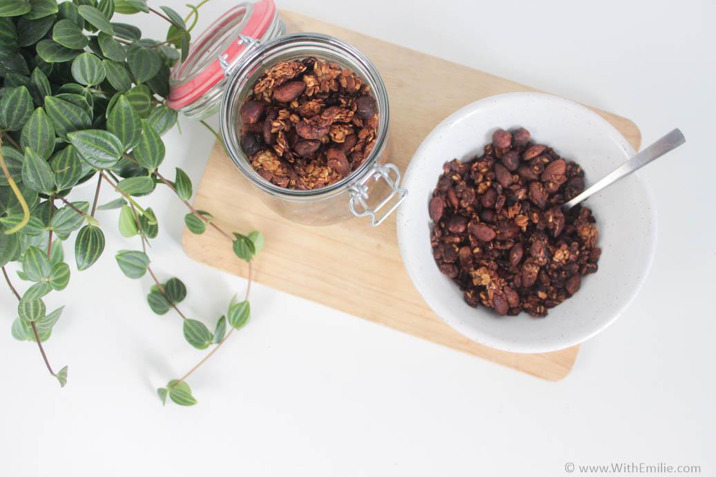 Ma recette de granola WithEmilieBlog