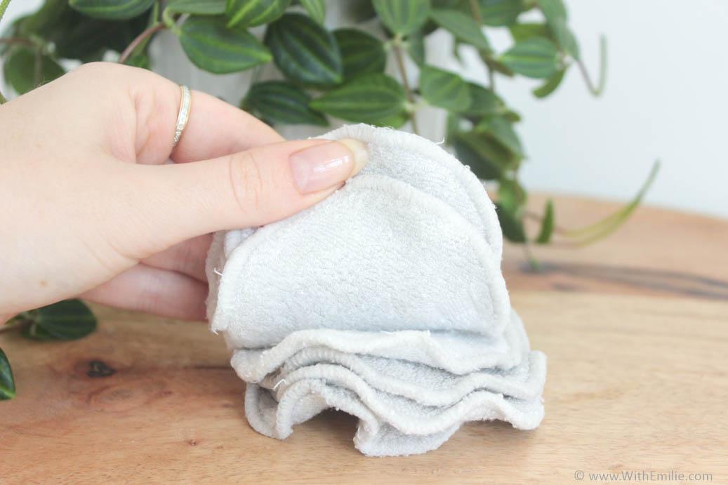 Blanchir ses cotons lavables naturellement - WithEmilieBlog