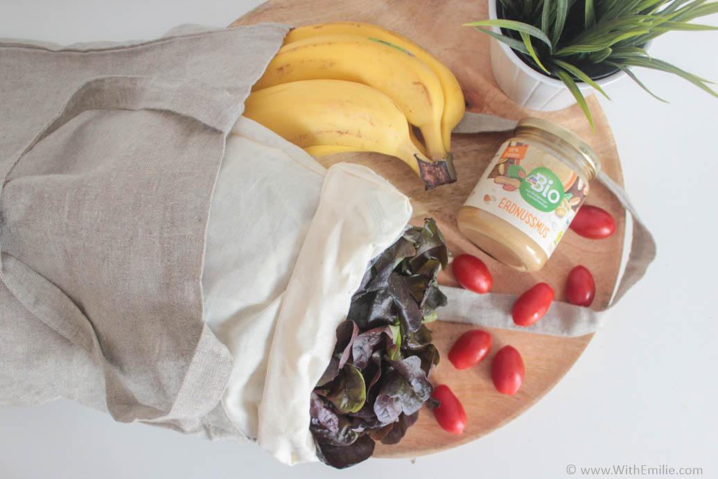 Réduire ses déchets en faisant ses courses au supermarché - WithEmilieBlog