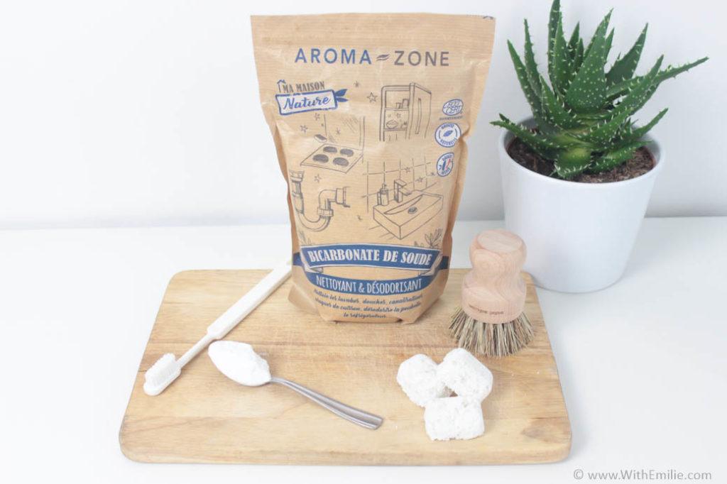 25 utilisations du bicarbonate de soude - With Emilie 2