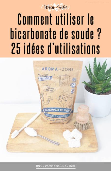 25 utilisations du bicarbonate de soude - With Emilie Pinterest 2