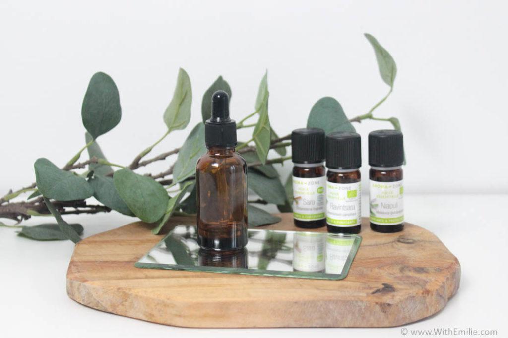 Remède naturel aux huiles essentielles pour se soigner -WithEmilieBlog