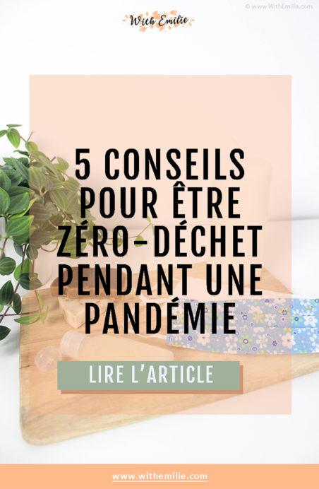 Être-zéro-déchet-pendant-une-pandémie-WithEmilieBlog-Pinterest
