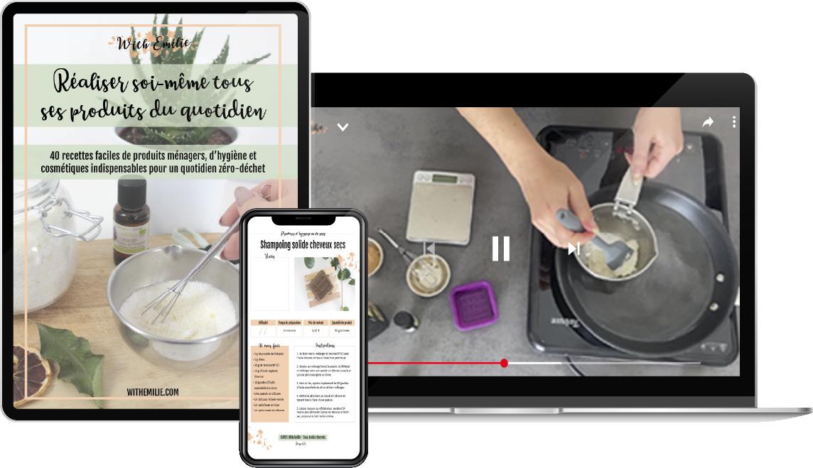 bundle de recettes produits maison WithEmilie